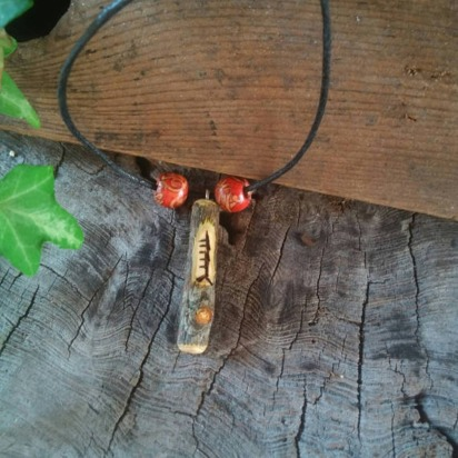 Apple Ogham Pendant