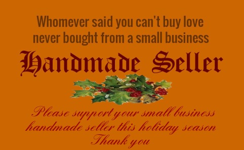 small business handmade seller support