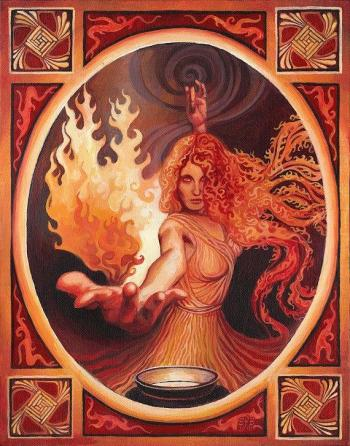 goddess bridghid