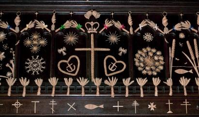 corn dollies all saints church