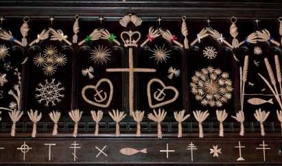 corn dollies all saints church