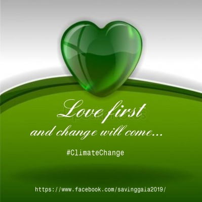 Big Green Heart Saving Gaia