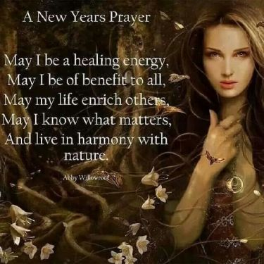 New Year Witch Pledge
