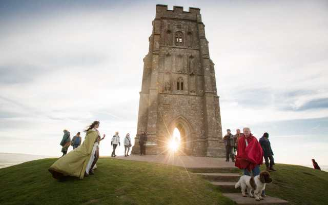 Beltane at the Tor by The Telegraph